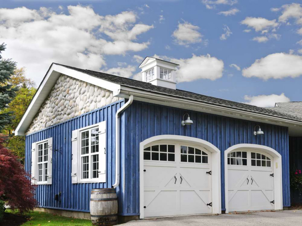 What kind of custom garage will you choose?